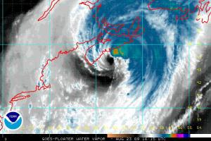 Bill Water Vapor 9:16:15Z 08.23.09
