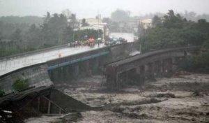 Bridges Washed Out