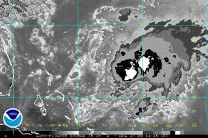 Tropical Storm Danny 14:45Z Dvorak 08.27.09