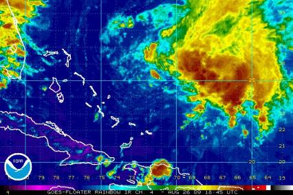 Tropical Storm Danny 1845Z 08.25.09