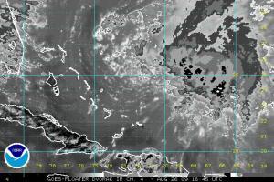Tropical Storm Danny Dvorak Image 9:18:45Z 08.26.09