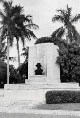Miami Beach Memorial Honoring Fisher