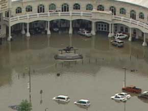 Churchill Downs Flooded