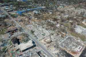 Gulfport MS: What a Direct Hit from a Major Hurricane Really Looks like..there's nothing left