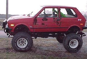 Check Out the Monster Yugo!