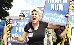 This Screaming Angry Lady is For Health Care Reform, is she un-American for her passion?