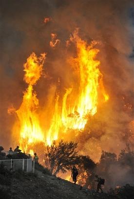 APTOPIX Wildfires