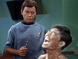 Sulu Wishes He Was Dead