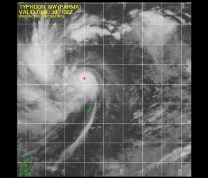 Typhoon Parma 1130Z 09.30.09