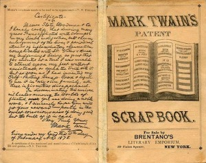 It is said that Twain's Scrapbook was his most profitable book and it contained not a single word
