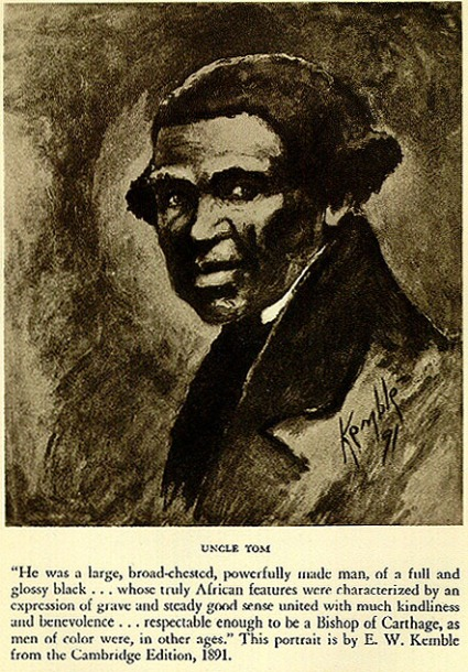 This Image of Uncle Tom More Closely Resembles Stowe's Tom Than Modern Convention