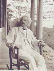 By the end of his life, Twain probably wished he had listened to Bell