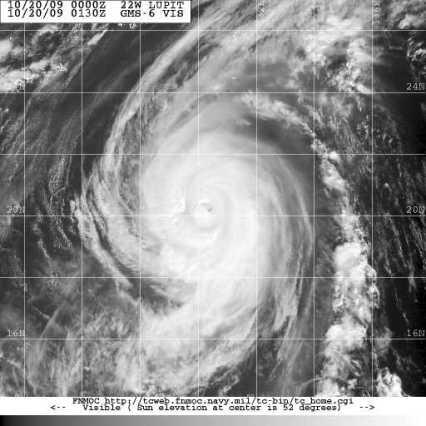 Typhoon Lupit 130Z 10.20.09