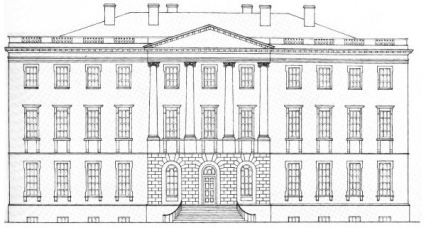 Executive Mansion Supposed to be Much Bigger