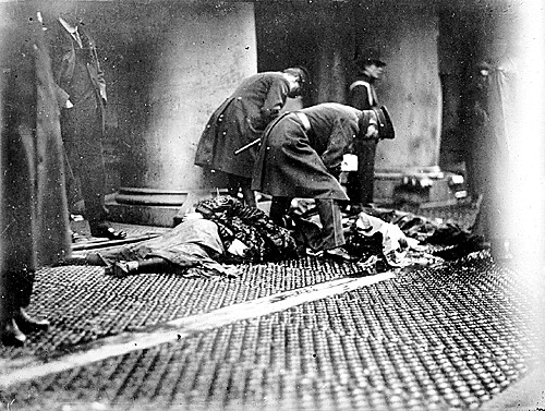 the triangle shirtwaist fire of new york 146 garment workers lost their lives in the triangle shirtwaist fire in new york's greenwich village, which was one of new york's worst industrial accidents and covered by newspapers across the nation, including the oklahoma state capital, whose march 26, 1911 front page is displayed here.