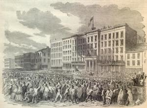 Harper's Weekly-Ohio Regiment in Louisville