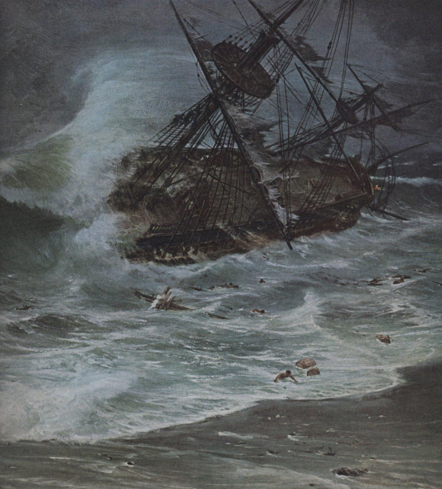 Sinking of the Spanish Fleet 1715 | Symon Sez