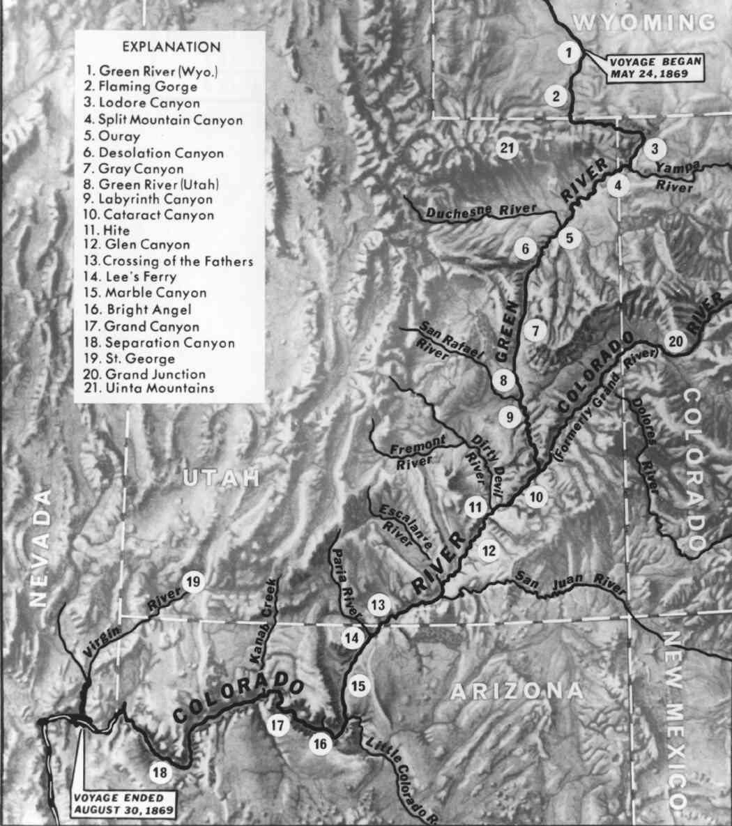 Were Map Colorado River