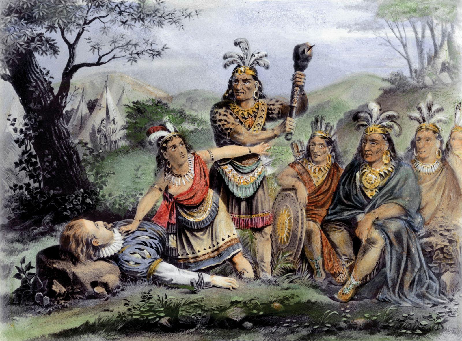 Pocahontas Real Life Story