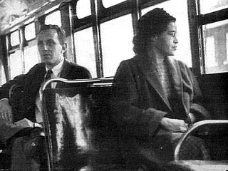 Montgomery bus boycott date in Perth